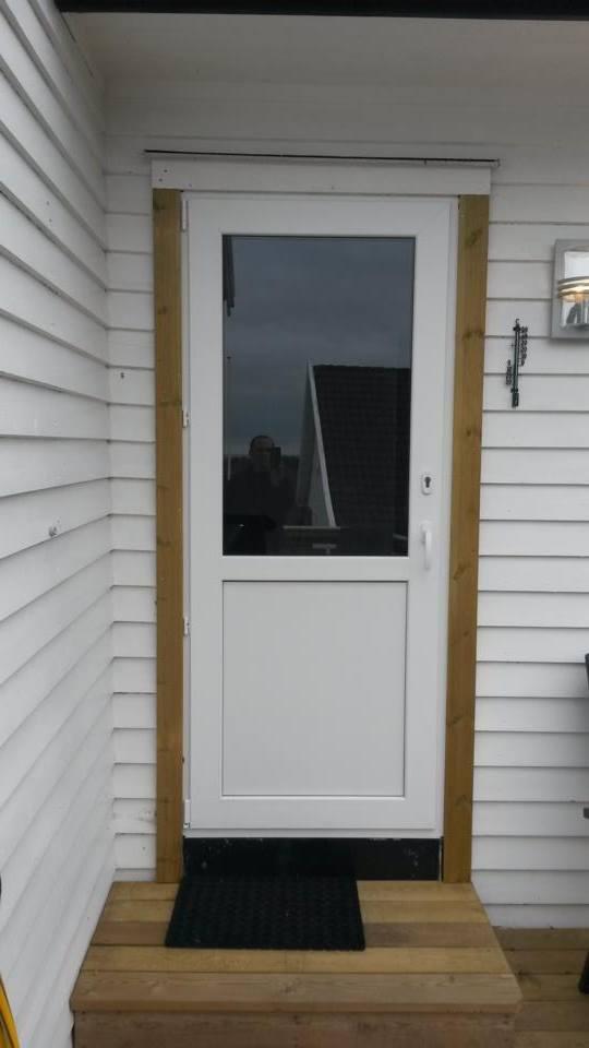 Pvc Outward Opening Balcony Door Jonas Vinduer