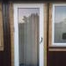 wood balcony doors