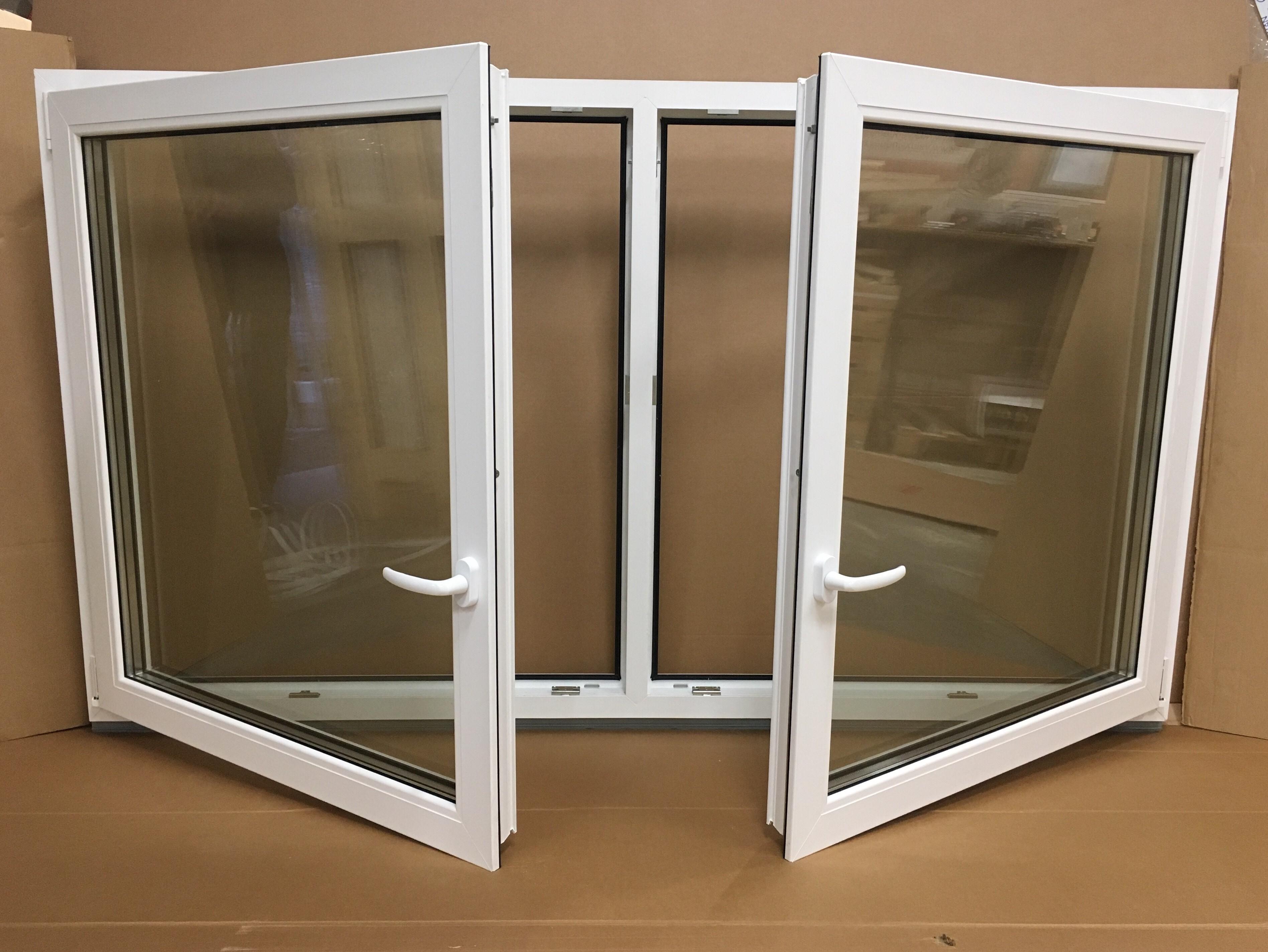 Pvc Window With 2 Opening Parts Jonas Vinduer