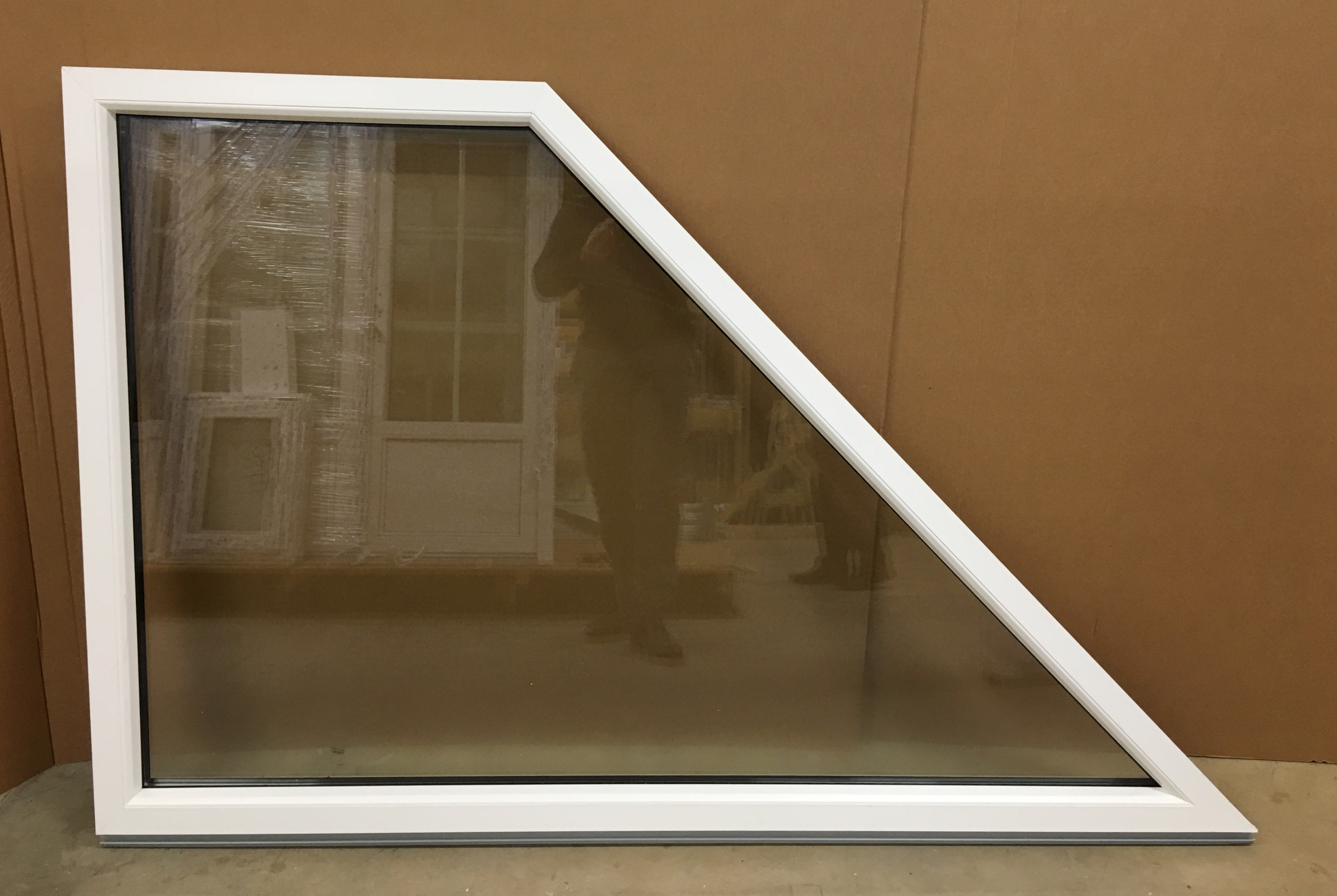 Fixed Pvc Trapezium Window Jonas Vinduer